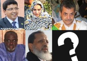 Les partis politiques qui siègeront dans le gouvernement