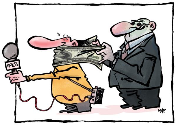 Les journalistes portent plainte les uns contre les autres