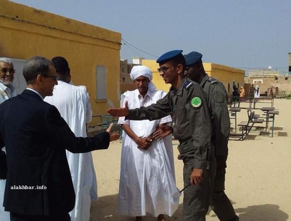 Nouakchott: Le président de la CENI en visite dans les bureaux de vote