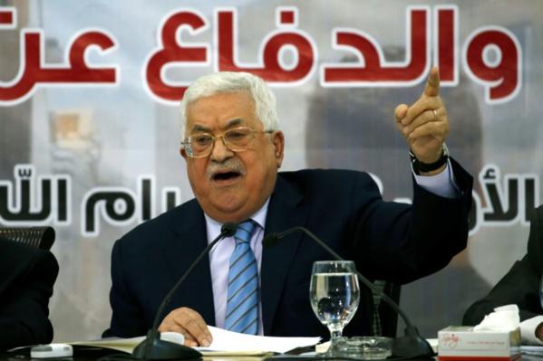 Le Conseil central de l'OLP soutient la suspension de la reconnaissance de l'Etat d'Israël
