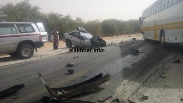 Mauritanie : un accident routier fait 11 morts au niveau d'Aghchorguit