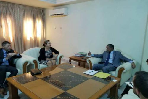 Le directeur général de l'Agence ''Tadamoun'' reçoit la sous- secrétaire d'Etat US adjointe aux affaires africaines