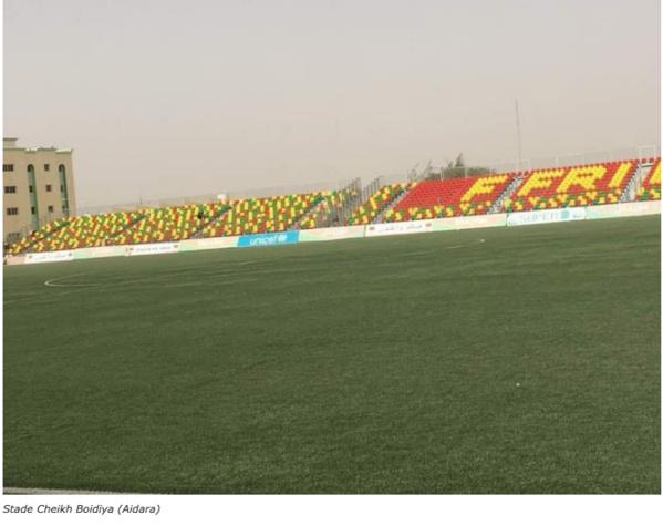 L'histoire du Stade Cheikha Ould Boydiya, de la terre battue au synthétique