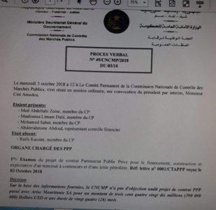 Scandale : le ministre de l'économie face à des documents compromettants