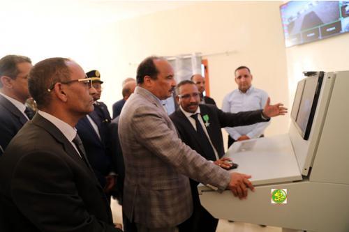 Inauguration par le Président de la République de l'axe nord du projet Dhar