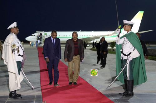 Retour du Président de la République à Nouakchott en provenance de Néma