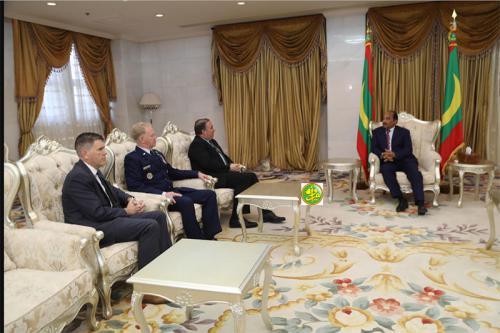 Le Président de la République reçoit le commandant adjoint de l'AFRICOM