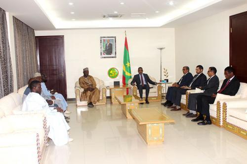 Le Premier ministre reçoit les présidents des chambres de commerce dans le G5 Sahel