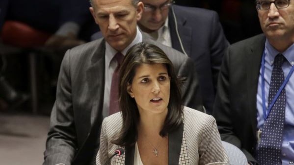 L'Assemblée générale de l'ONU appelée par Nikki Haley à condamner le Hamas