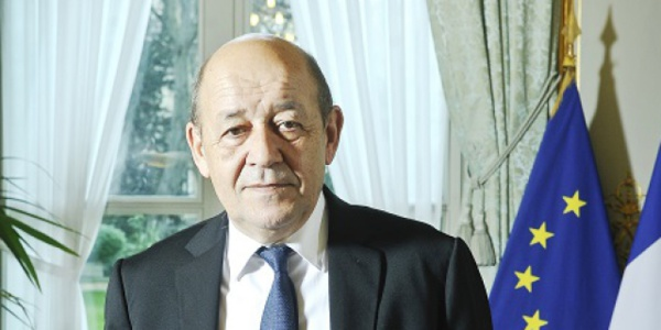 Arrivée à Nouakchott du ministre français des Affaires étrangères