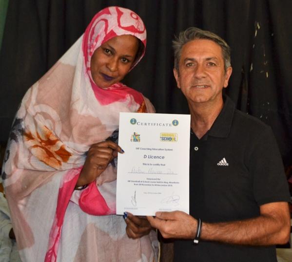 Mauritanie : La Fédération de Handball boucle une tournée de formation d'entraîneurs