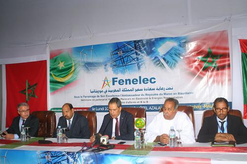 Rencontre pour le renforcement du partenariat entre la Mauritanie et le Maroc dans le domaine de l'Energie