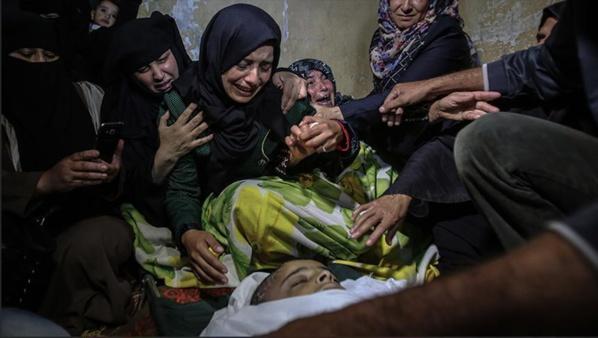 Gaza: un enfant palestinien, blessé lors d'affrontements, succombe