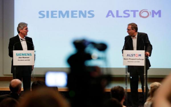 """Fusion: Alstom et Siemens ont déposé à Bruxelles des compensations """"adéquates"""" (groupes)"""