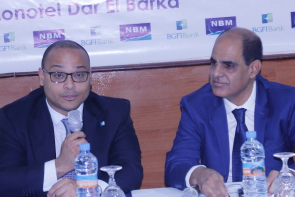 Convention de partenariat entre la Nouvelle Banque de Mauritanie et BGFI Bank Europe
