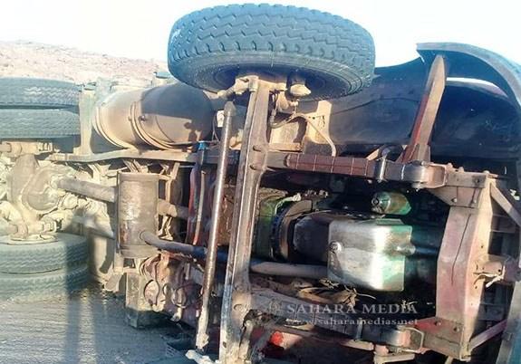 Mauritanie : la route du Tagant bloquée par un camion dans la passe d'Echetf