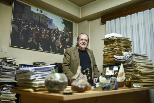 Sur la petite île de Chypre, un journaliste défie le président turc