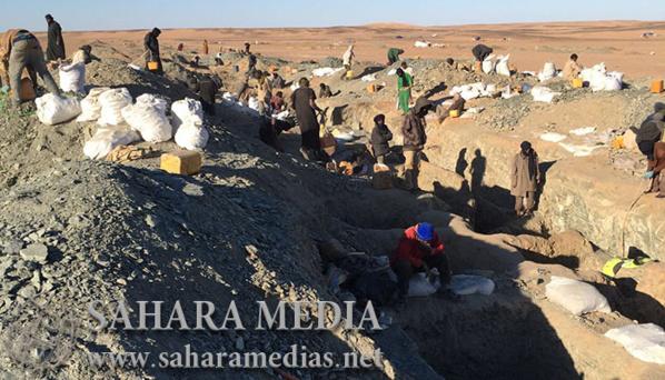 Mauritanie : près de 10 000 orpailleurs enregistrés dans le nord du pays