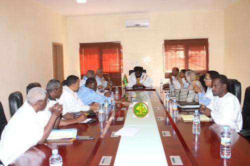 Réunion de la conférence des présidents de l'assemblée nationale