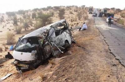 Mauritanie : Plus de 500 accidents près de Boutilimitt durant l'année 2018