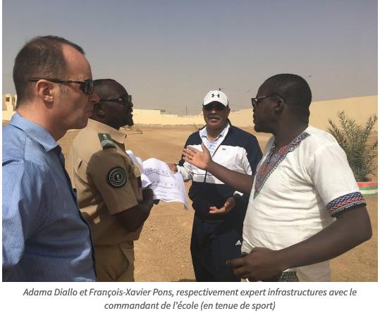 Sécurité et Développement en Mauritanie : lancement des travaux au profit des écoles militaires de Rosso