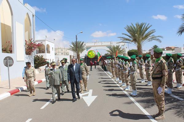 Le ministre de la défense nationale visite l'État-major général des armées