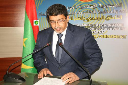Le porte-parole du Gouvernement commente les résultats du Conseil des Ministres
