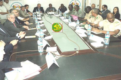 Réunion de haut entre le comité de soutien de la force conjointe G5 Sahel et ses partenaires européens