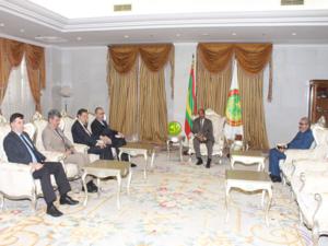 délégation de la coopération européenne reçue par Aziz le 30 Mars 2019