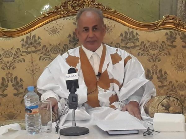 Présidentielles 2019 : l'ex PM Ould Mohamed Laghdaf prend position