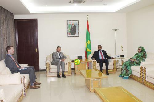 Le Premier ministre s'entretient avec l'ambassadeur des USA en Mauritanie