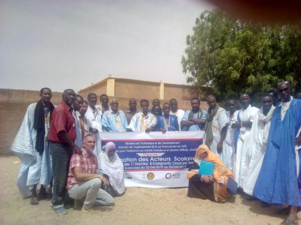 ATPC Assaba : l'ONG OAEMSD forme les acteurs scolaires à la Promotion de l'Hygiène en milieu scolaire