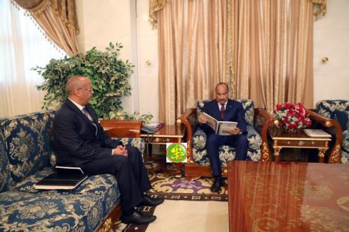 Le Président de la République reçoit le rapport annuel du mécanisme national de prévention de la torture