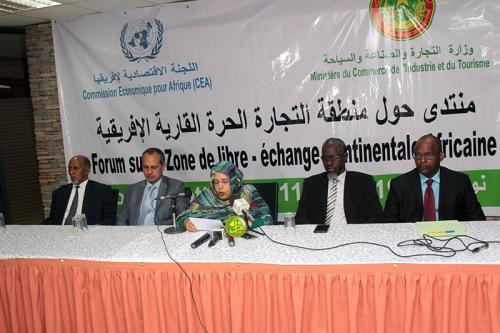 Ouverture des travaux d'un forum national sur la Zone de libre-échange continentale africaine
