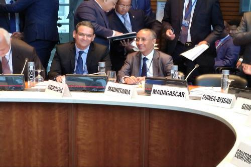 Le ministre Délégué Chargé du Budget et le gouverneur de la BCM participent aux réunions du groupe Afrique auprès des institutions Bretton Woods