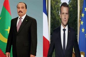 Le Président de la République adresse un message de solidarité au Président français