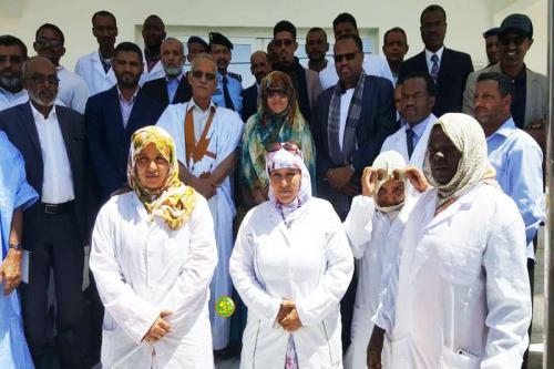 La ministre du développement rural visite des infrastructures agricoles en Adrar