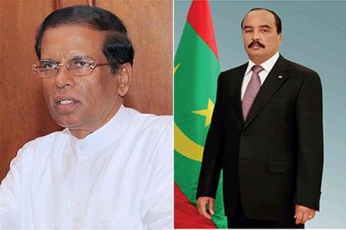 Le Président de la République présente ses condoléances au Président Sri-Lankais