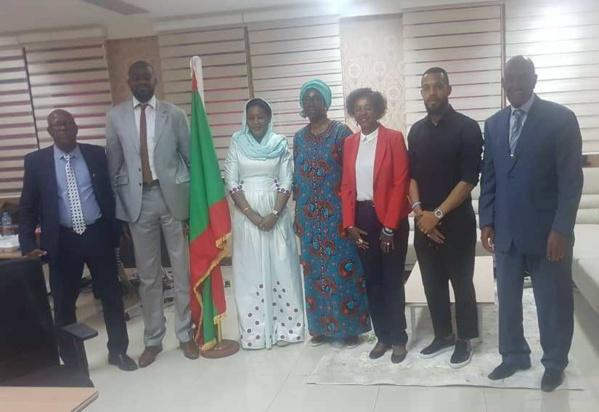 Des ambassadeurs de Paris 2024 à Nouakchott