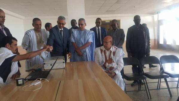 Le candidat Ould Ghazouani s'inscrit sur la liste électorale