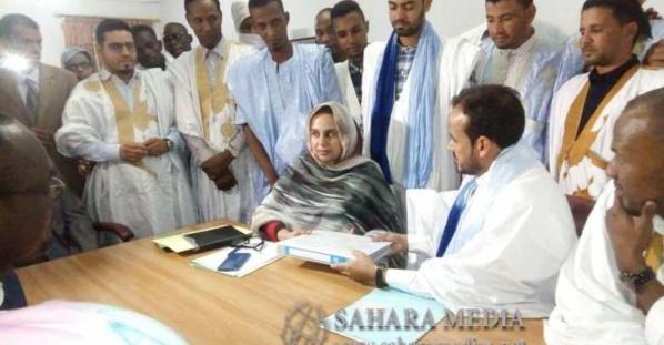Mauritanie : O. El Wavi a déposé son dossier de candidature aux présidentielles