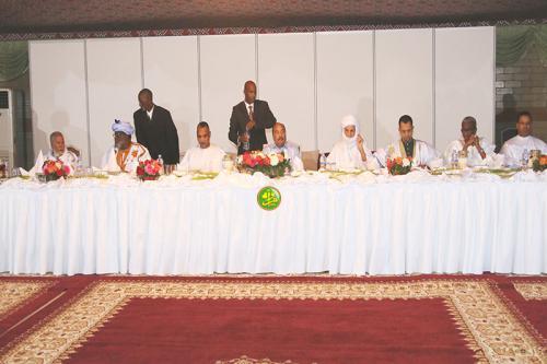 Le Président de la République offre un dîner- Iftar