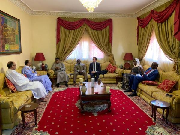 Ould Boubacar reçoit un responsable onusien