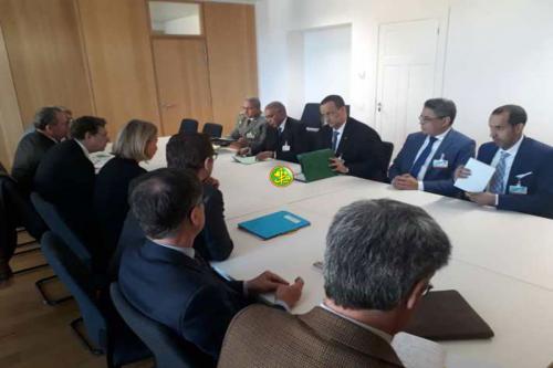 Les ministres des affaires étrangères et de la défense nationale rencontrent à Bruxelles la haute représentante de l'Union européenne pour les affaires extérieures et de sécurité