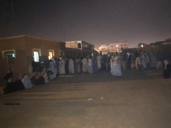Nouakchott : Encore du monde devant les bureaux du RAVEL