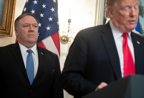 """""""Menace"""" iranienne: Trump retire des diplomates d'Irak mais appelle au dialogue"""