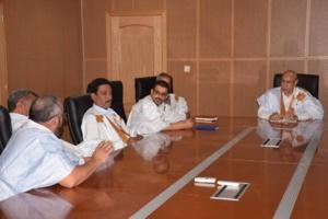 Des hommes d'affaires du secteur de la pêche soutiennent Ghazouani