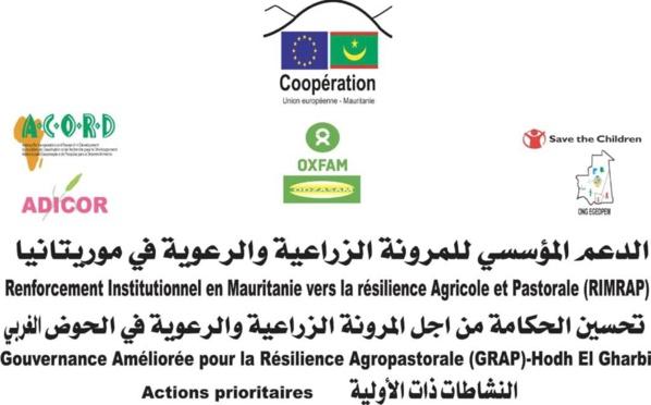 RIMRAP au Hodh Elgharbi : Mise en œuvre par ACORD d'une gamme d'actions prioritaires