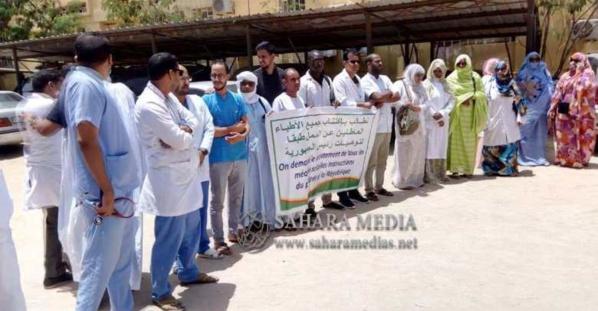 Mauritanie : des dizaines de médecins protestent pour demander leur recrutement