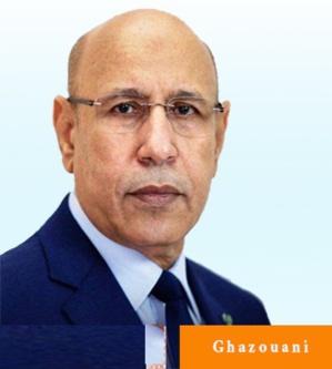 Arrivée dans la capitale de l'Assaba du candidat Ould Ghazouani